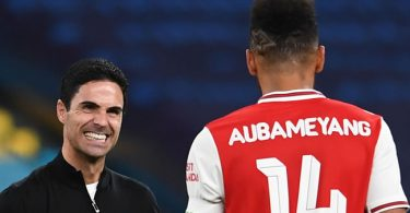 Arteta Speaks On Aubameyang's Stay at Arsenal