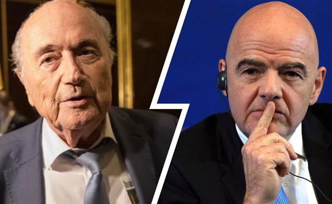 Ex-FIFA president Blatter calls for Infantino's suspension