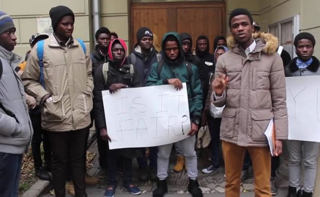 NDDC students abroad protest over non-payment of fees