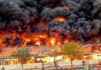 UAE: Fire outbreak in Ajman market
