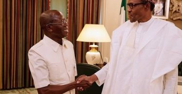 I'm as relevant as Buhari, Oshiomhole replies APC Governor's Forum DG