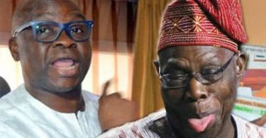 Fayose's insults on Obasanjo is a sacrilege in Yoruba land -Bode George