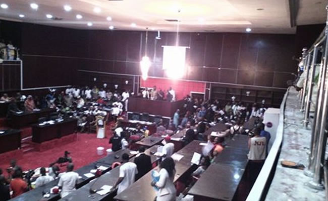 Imo House Assembly speaks on alleged missing mace