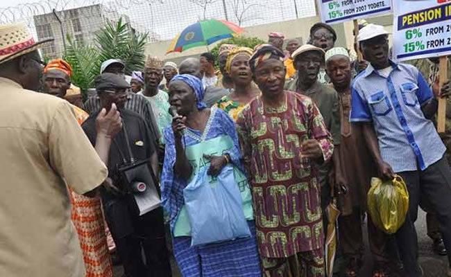 Protesting pensioners allegedly flogged in Imo state