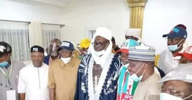 Edo 2020: Pastor Ize-Iyamu bags chieftaincy title in Auchi