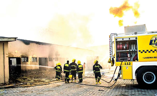 Gas Explosion kills 1 in Lagos, 4 injured