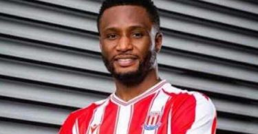 Mikel back In English Football, Joins Stoke City