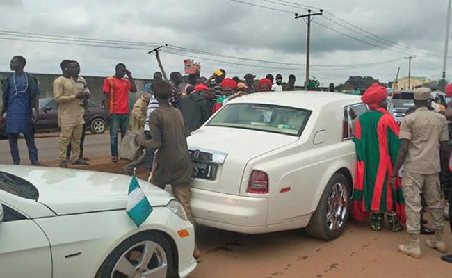 Large crowd welcomes Sanusi in Kaduna