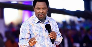 I have not Prophesied on Edo 2020 election -TB Joshua