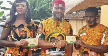 Nollywood Actor, Yul Edochie dumps PDP for APGA