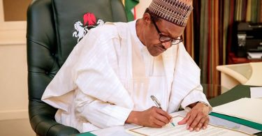 Buhari signs amended Companies And Allied Matters Bill