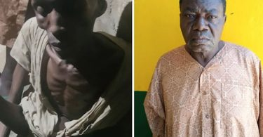 Reactions as police arrest man who imprison biological son for 7 years