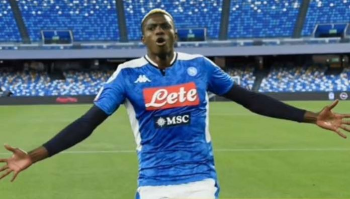 Osimhen Bags Hattrick For Napoli In 11 Goal Rout Daily Times Nigeria