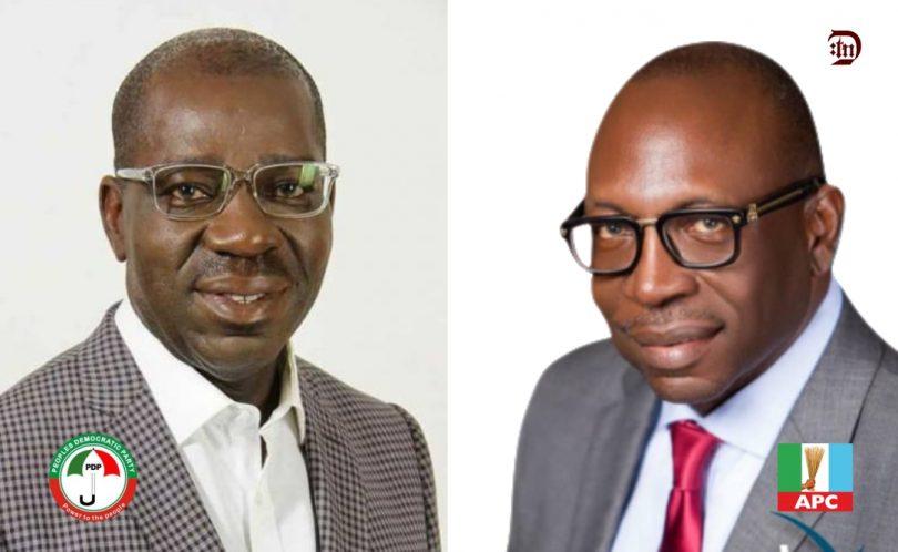 Obaseki, Ize-Iyamu battle for Edo state governorship election