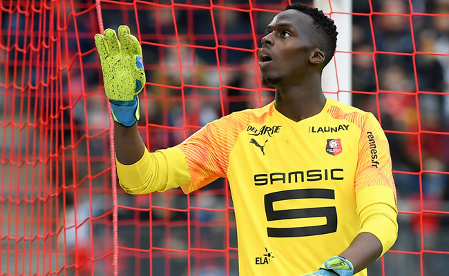 Chelsea close to sign Rennes goalkeeper Edouard Mendy