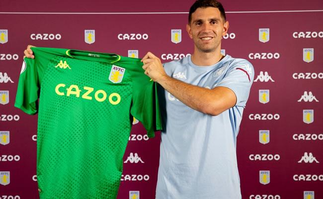 Arsenal Goalkeeper Martinez Joins Aston Villa