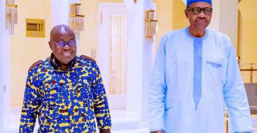 Buhari holds closed-door meeting with Ghanaian president