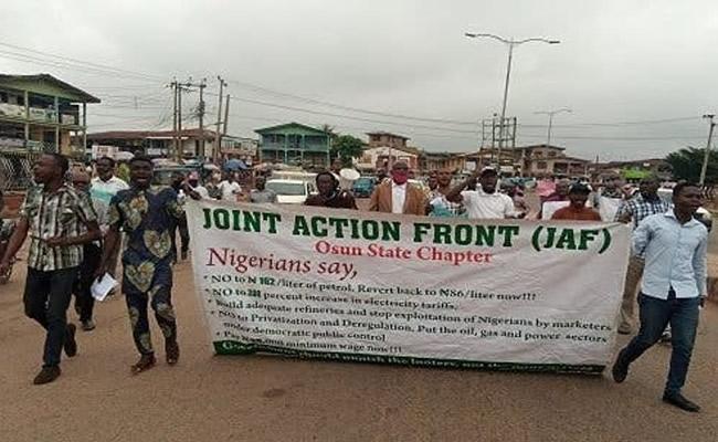 Fuel hike: JAF begins nationwide protest