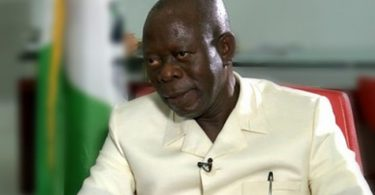 Oshiomhole Pleads for Out-of-court Settlement in Ortom's N10bn Suit
