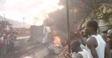 Tragedy as tanker explodes On Otedola Bridge