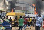 #EndSARS: 2 dead as hoodlums burn Apapa Iganmu Police Station in Lagos