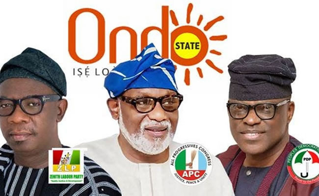The Ondo governorship poll