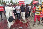 Anti-SARS protest in ABuja