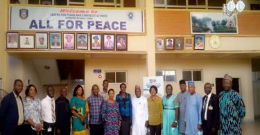IPCR collaborates with UNILORIN to develop courses in peace, development studies
