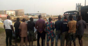 Navy arrests 10 petroleum pipeline vandals, recovers nine trucks of stolen PMS