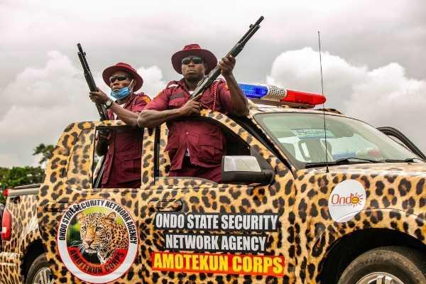 Amotekun arrests suspected killers of the Ondo monarch