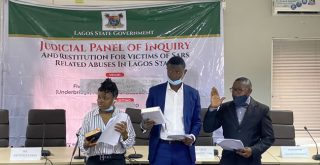 #EndSARS leaders, Oduala, Temitope sworn in as members of Lagos panel