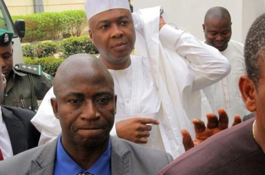 Saraki at the court