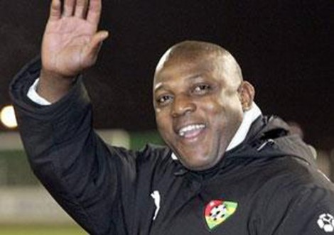 Stephen-Keshi saying Goodbye