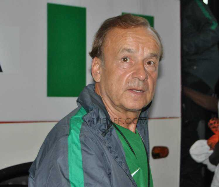 Rohr for Wednesday's Aiteo Cup final Kano Pillars against Enugu Rangers