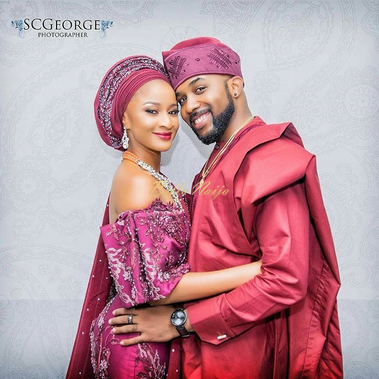 Videos Banky W And Adesua Etomi S Traditional Wedding Introduction