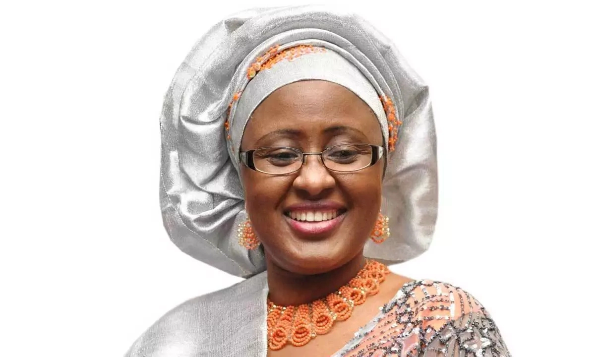 My ADC used his position to defraud unsuspecting officials -Aisha Buhari
