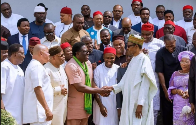 APC South East leaders meet Buhari, endorse him for 2019