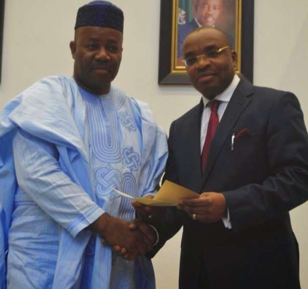 I have no rift with Gov. Emmanuel -Akpabio