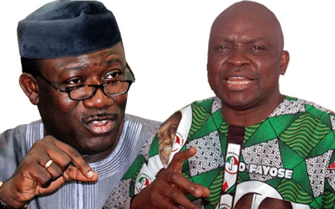 Fayemi wants Fayose to prioritise workers' welfare from N5.52bn allocation