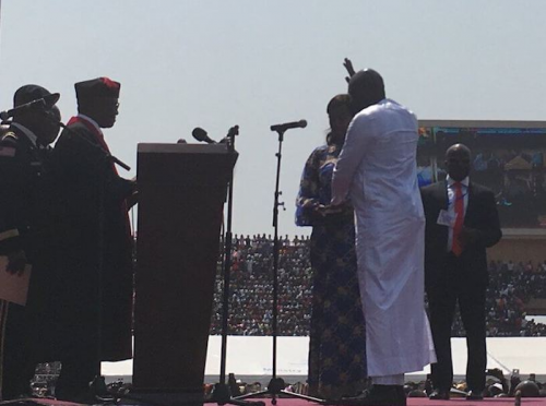 BREAKING: Weah sworn in as Liberia's 24th president