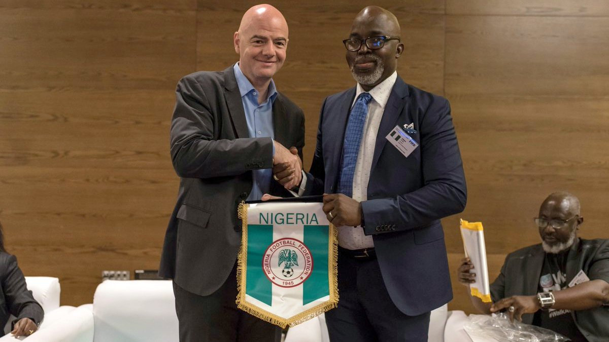 In Nigeria, football is life, more than religion, says FIFA president