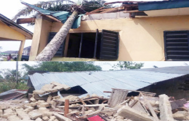 Thunderstorm destroys 100 Houses in Delta Community