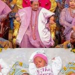 [MUST SEE] Alaafin Of Oyo And His Oloris At The Naming Ceremony Of Their Set Of Twins