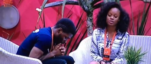 #BBNaija: CeeC apologizes to Tobi after attacking him and receiving a strike