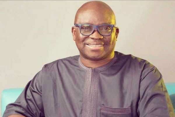 Bisi Akinola, Gov Fayose ally opens multi-million naira office