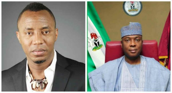 """How Saraki seized over $200,000 from me"" – Omoyele Sowore opens up"