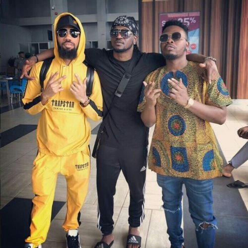 Photo:Olamide, Phyno And Paul Okoye Hangout Together