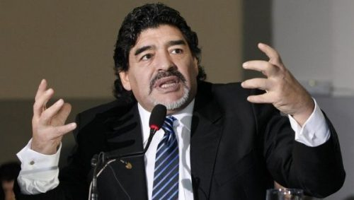 #WorldCup: Don't Return Home If You Lose To Nigeria, Maradona Warns Argentina Coach