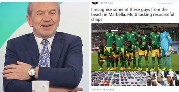 #WorldCup: Senegal Football Team Rejects Apology From Business Mogul After 'Racist' Tweet