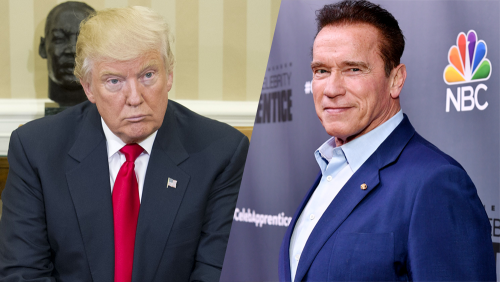 You are a little wet noodle – Arnold Schwerzenegger slams Trump